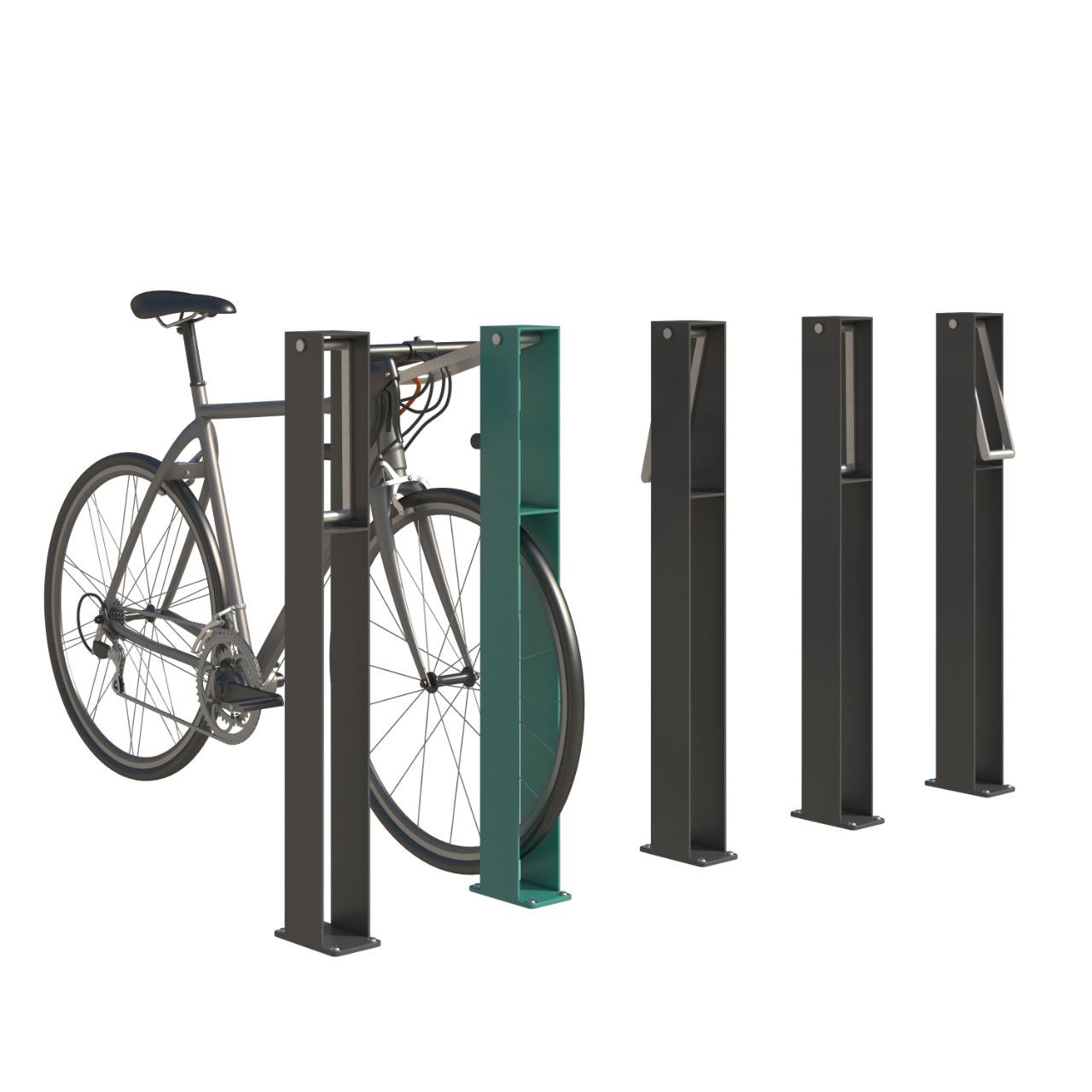 Велопарковка Alfa-paw вид спереду